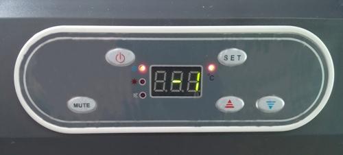 Автохолодильник Сибиряк ХК-11-18ЛД 18 литров - панель управления