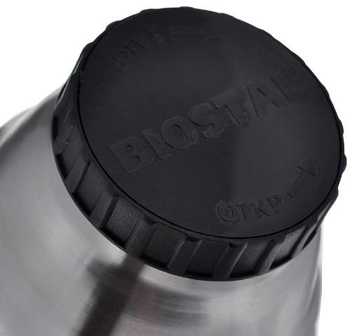 Термос с боковой ручкой Biostal Биосталь NBP-H - глухая пробка с каналами