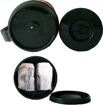 Термос Арктика 109 M для напитков и чая - дополнительный контейнер для сахара
