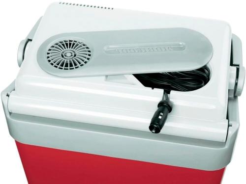 Автохолодильник Mobicool P24 DC - отсек с проводами питания
