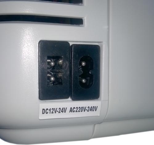 Автохолодильник Сибиряк ХК-11-18ЛД 18 литров - разъёмы питания