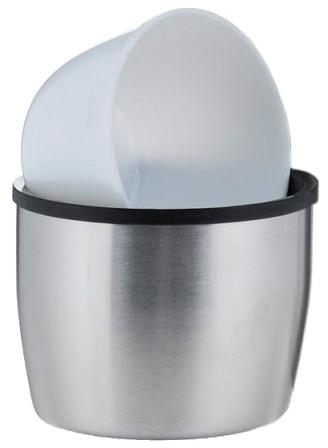 Термос с боковой ручкой Biostal Биосталь NBP-H - крышка-чашка и дополнительная чашка