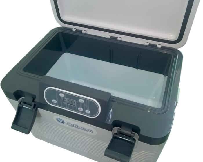 Автохолодильник Сибиряк ХК-11-18ЛД 18 литров - внутренняя ёмкость