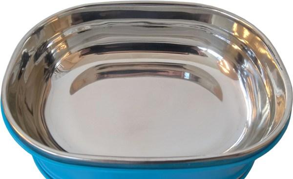 Ланч-бокс многосекционный для еды - стальная колба