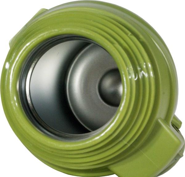 Термос для напитков Steel Military с пробкой-кнопкой - колба из нержавеющей стали