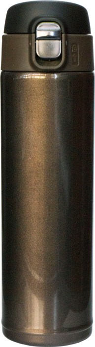Термостакан с поилкой Steel Brown 500 мл - удобная форма