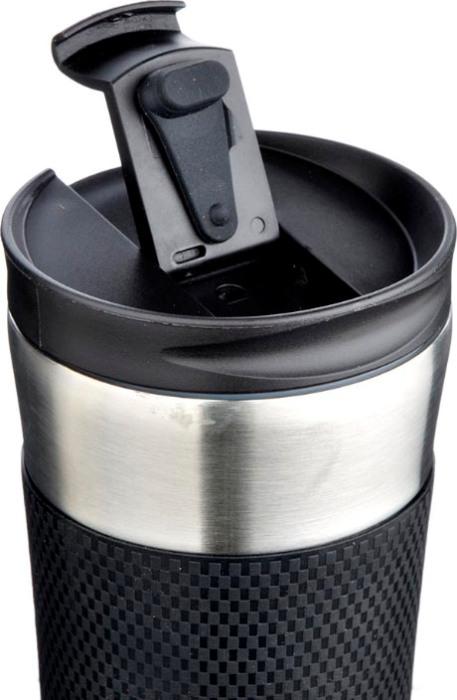 Термокружка с силиконовой вставкой Satoshi Soft 480 мл - крышка с поилкой