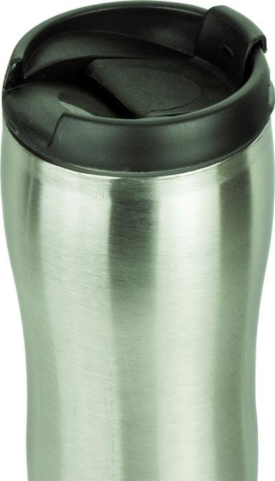 Термокружка Steel Elegant с поилкой 320 мл - удобная форма