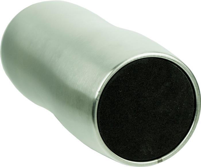 Термокружка Steel Elegant с поилкой 320 мл - прорезиненное дно