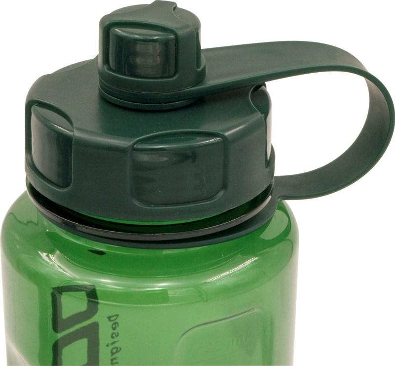 Спортивная бутылка Dodge Big для воды 1,5 литра - крышка с поилкой