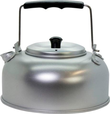 Чайник походный алюминиевый ECOS CK 1 литр - удобная форма