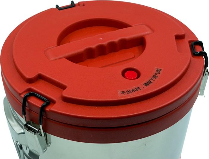 Термобочка из нержавеющей стали Steel для еды и напитков - крышка с кнопкой