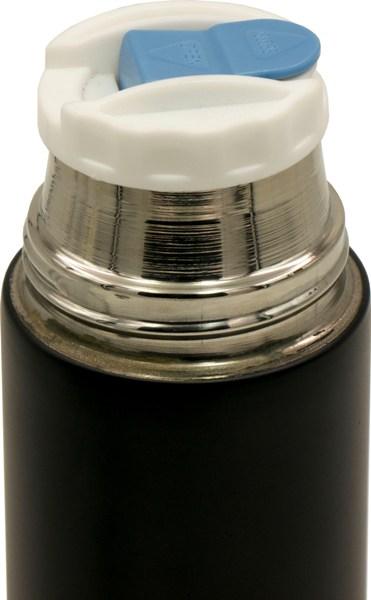 Термос из нержавеющей стали с ручкой 13-14 500 мл - пробка с кнопкой