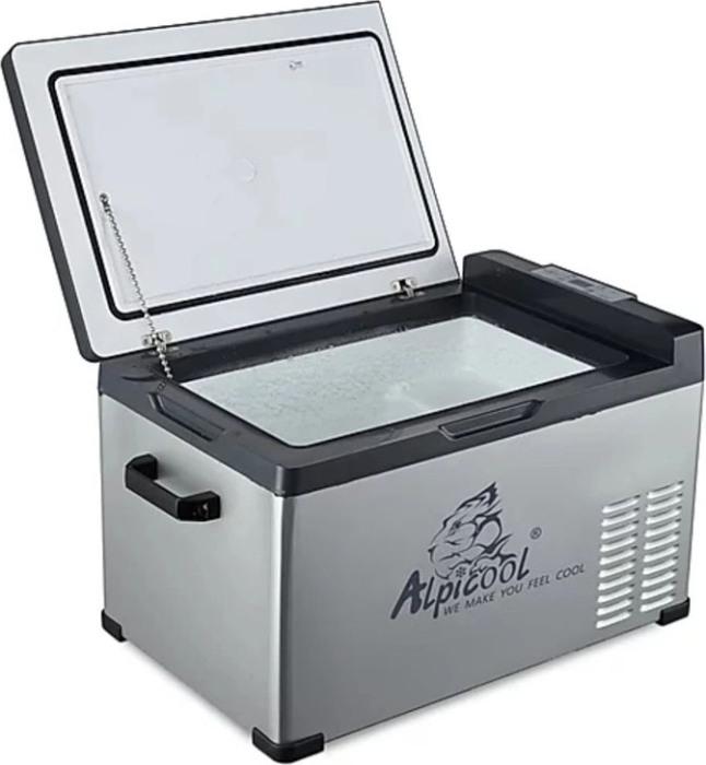 Компрессорный автомобильный холодильник Alpicool C30 - надёжная крышка