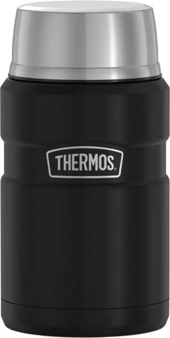 Термос суповой Thermos King SK-3020 700 мл - чёрный матовый цвет