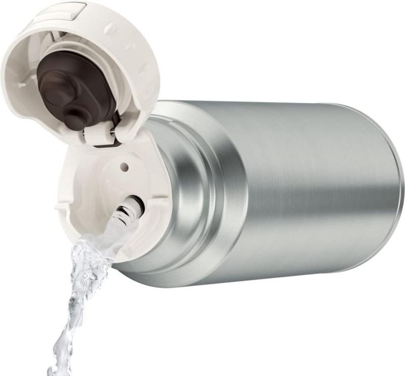 Термос питьевой Thermos FFM 350 мл с поилкой - откидная пробка и удобство наливания