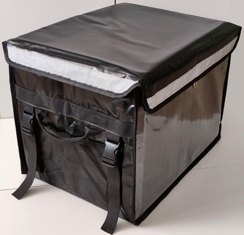 Термосумка для доставки продуктов и еды Delivery Bag 40 и 55 литров - боковые ручки-лямки