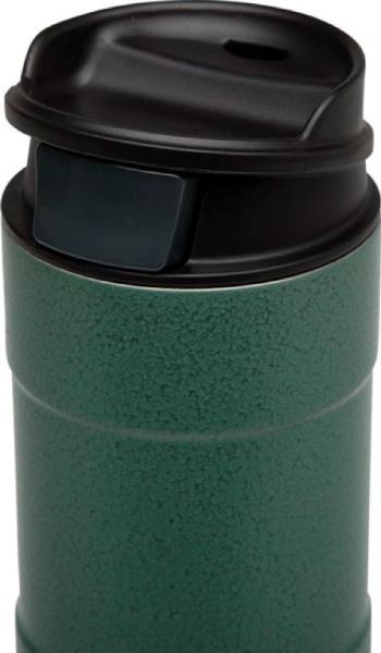 Термокружка для напитков Stanley Classic One Hand 470 мл - крышка с кнопкой и поилкой