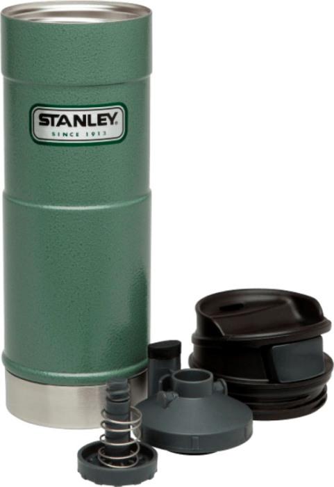 Термокружка для напитков Stanley Classic One Hand 470 мл - разобранная крышка