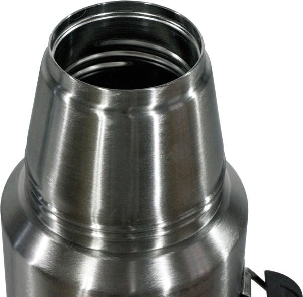 Термос для напитков Steel Vacuum Bottle 1 литр - узкое горло