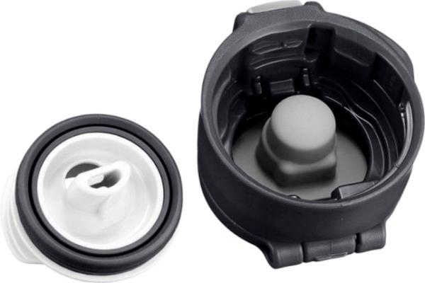 Японская термокружка Zojirushi SM-SD48 с тефлоновым покрытием - крышка с поилкой и силиконовым уплотнителем