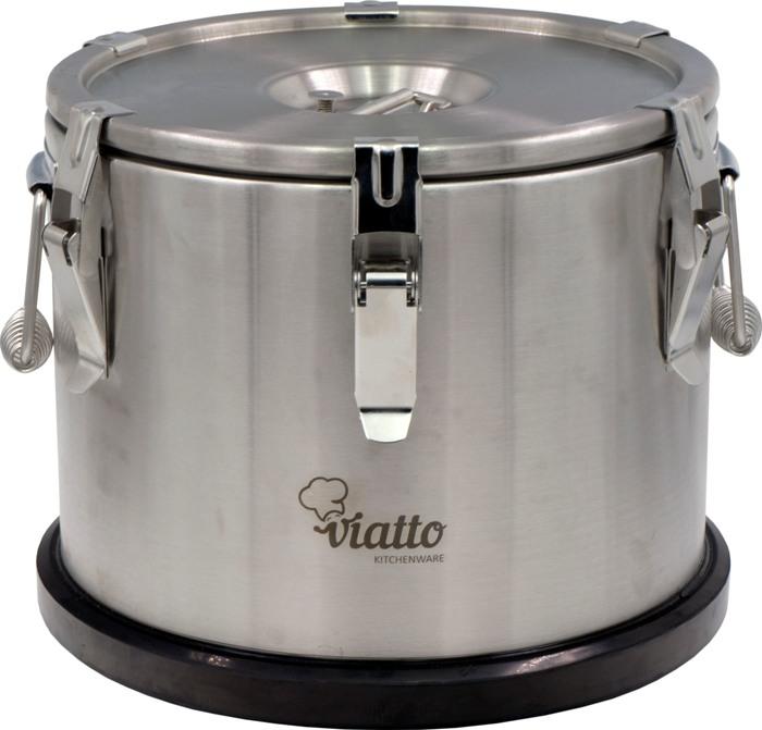 Профессиональный термос Viatto для еды - удобная и практичная форма