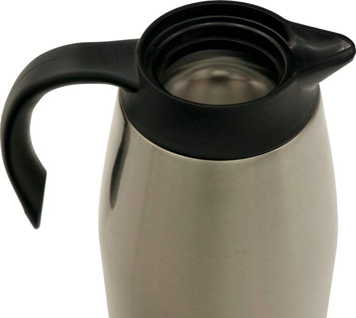 Термос-кувшин Steel 1500 для чая - узкое горло и боковая ручка