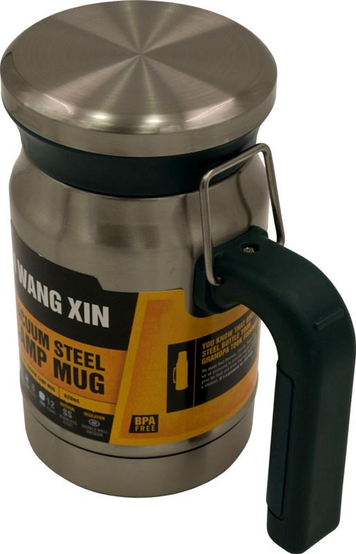 Термос-кружка для напитков Camp Mug 620 мл - удобная ручка