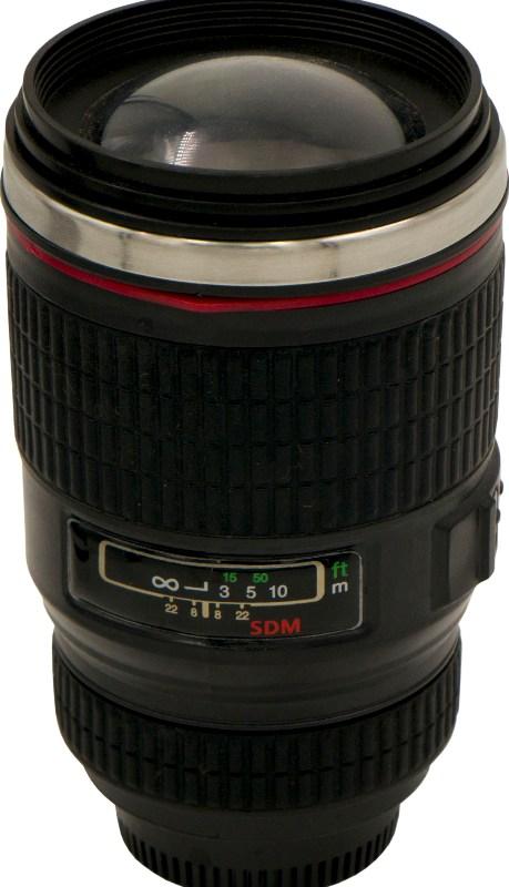 Термостакан-объектив Lens 350 мл - удобная форма