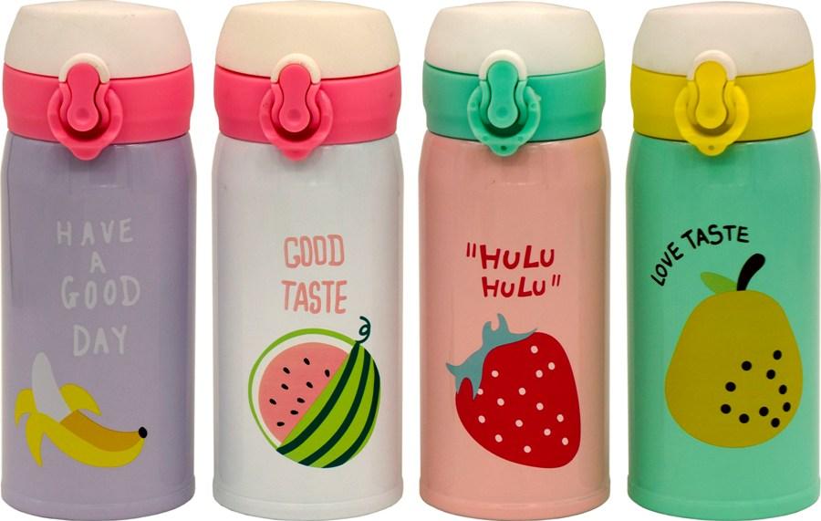 Термокружка питьевая Fruit 350 мл - доступные цвета