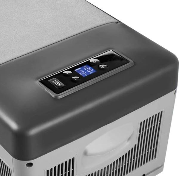 Компрессорный автомобильный холодильник Alpicool C15 - вид сверху