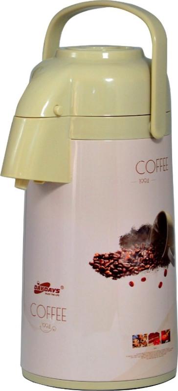 Стеклянный термос с помпой DayDays Coffee 3 литра - крышка с механизмом пневмонасоса