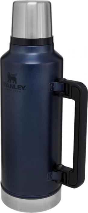 Термос Stanley Classic Legendary Bottle 1,4 литра - боковая прорезиненная ручка