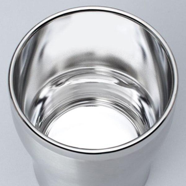 Японский тамблер из нержавеющей стали Zojirushi SX-DB - зеркальная полировка