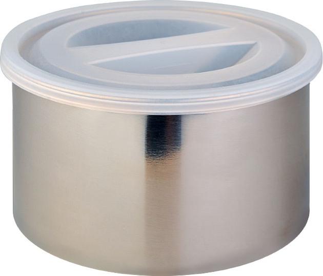 Термос Биосталь NR с контейнерами для еды - металлический судочек