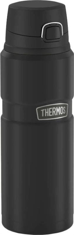 Термокружка Thermos King SK4000 700 мл - чёрный матовый цвет