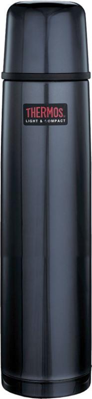 Классический термос Thermos FBB Midnight Blue 1 литр - классическая удобная форма