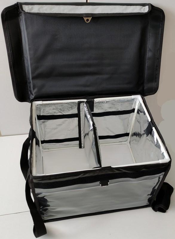 Термосумка для доставки продуктов и еды Delivery Bag 40 и 55 литров - каркас и внутренний материал