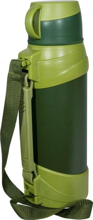 Термос для напитков Steel Military для напитков - боковая ручка и ремешок