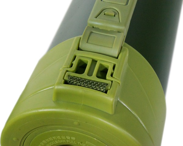 Термос для напитков Steel Military для напитков - плечевой ремешок