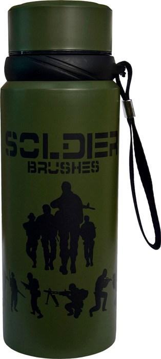 Термос для напитков Steel Soldier 800 мл - удобная форма