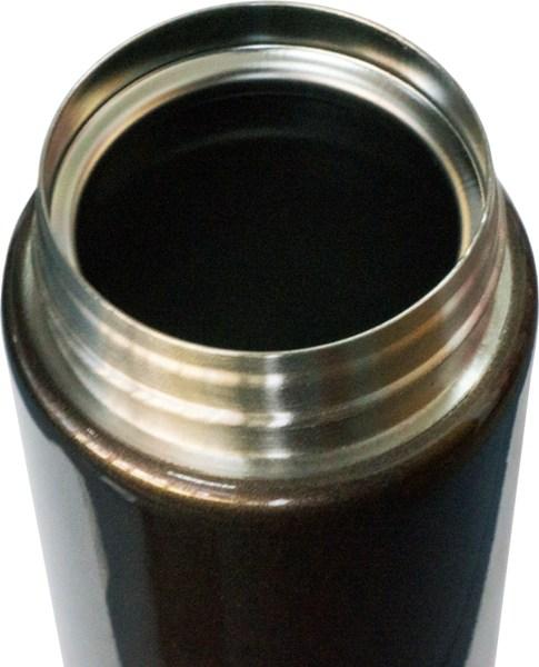 Термостакан с поилкой Steel Brown 500 мл - стальное горло