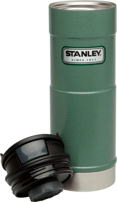Термокружка для напитков Stanley Classic One Hand 470 мл - крышка с кнопкой