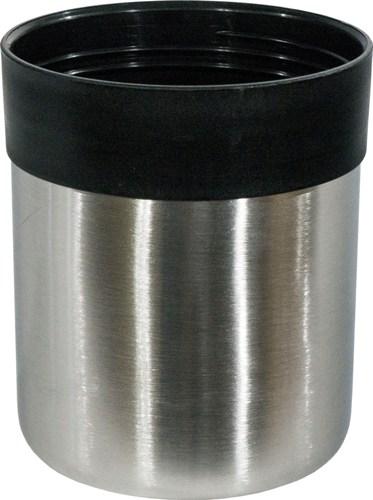 Термос для напитков Steel Vacuum Bottle 1 литр - крышка-чашка