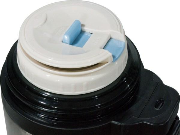 Термос для напитков Steel Red Line с кнопкой - пробка с кнопкой