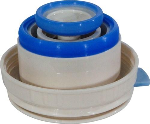 Термос для напитков Steel Red Line с кнопкой - пробка с силиконовыми уплотнителями