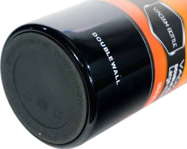 Термос-фляга с ситом для напитков Steel Jiakang 1100 мл - прорезиненное дно