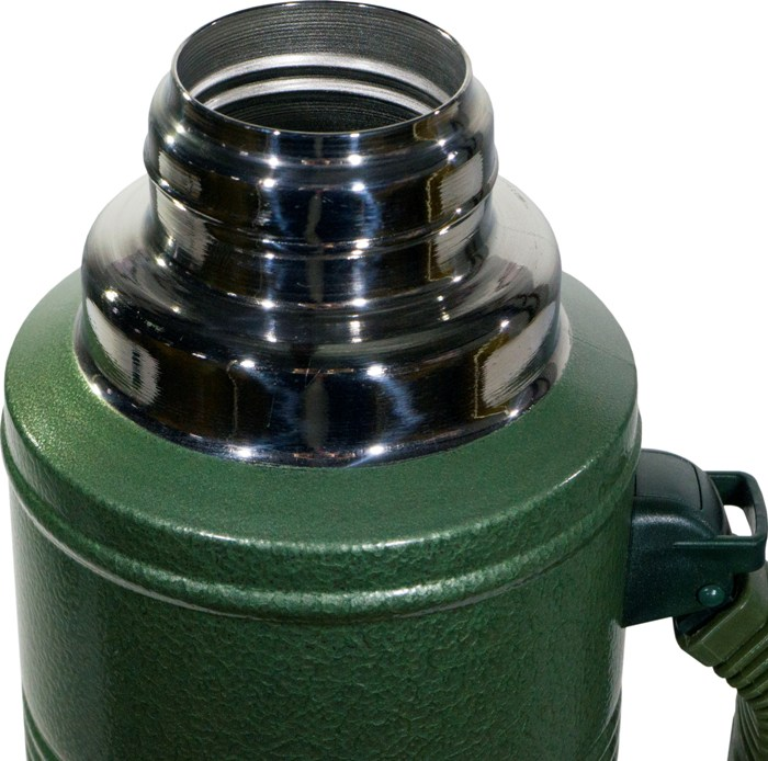 Термос для напитков Арктика серии 106-1250P - стальное узкое горло
