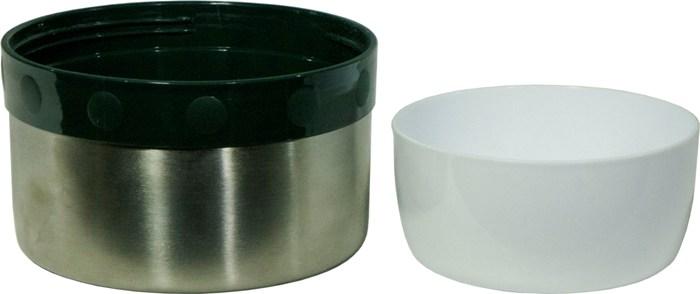 Универсальный термос с широким горлом Арктика 202Б серии - крышка-чашка и миска