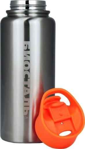 Спортивный термос-бутылка Biostal NHF для напитков - удобная форма